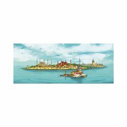 Doku Tablo ISGE-0101 İstanbul-2 Kanvas Tablo