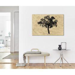 Doku Tablo OBAG-518 Ağaç Kanvas Tablo