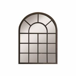 Doku Tablo EVDWSY-01 Ahşap Pencere Ayna - Siyah