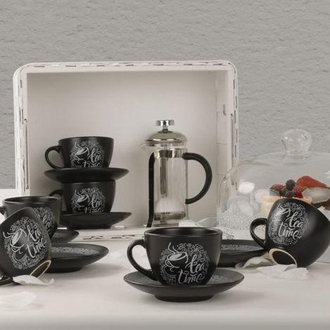 Keramika 956 Kera Tea Time Mat 12 Parça Çay Fincanı Takımı
