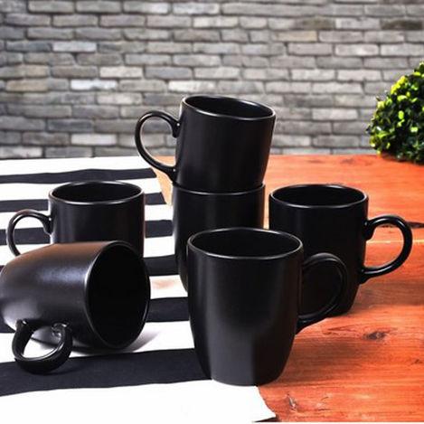 Resim  Keramika 650 A Bulut Kupa - Siyah
