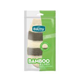 Balmy Naturel Bambu Keten Banyo Eldiveni