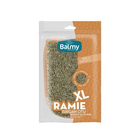Balmy Naturel XL Ramie Isırgan Otu Banyo Eldiveni
