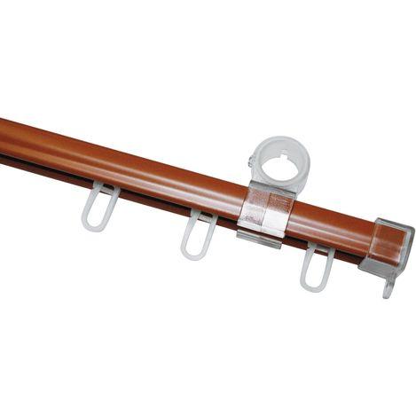 Gardinia U Biçimli Ray (Kiraz) - 240 cm