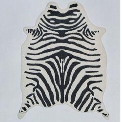 Linnea Akrilik Dekoratif Post Zebra Halı - 150x200 cm