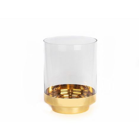 Biev MCA027 Cam Mumluk (Altın) - 24 cm