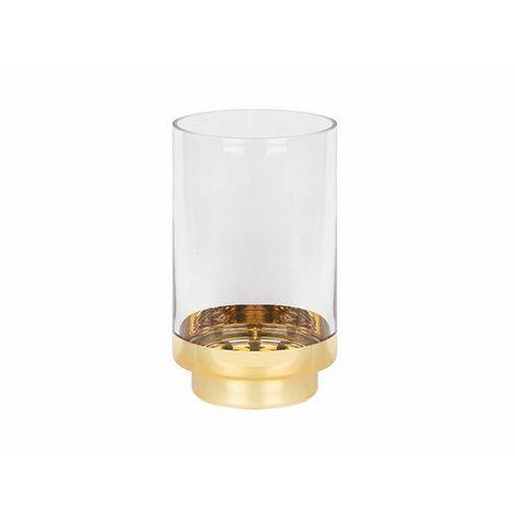 Biev MCA026 Cam Mumluk - Altın