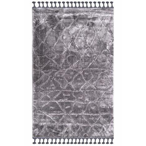 Resim  Giz Home F8132B Fez Halı (Antrasit) - 120x180 cm