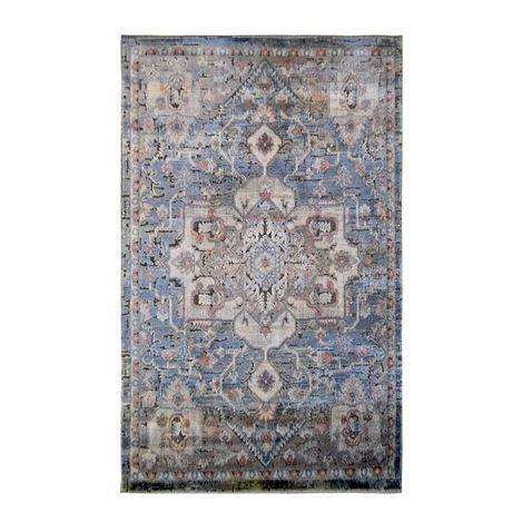 Resim  Giz Home Sierra Halı (Mavi) - 80x150 cm