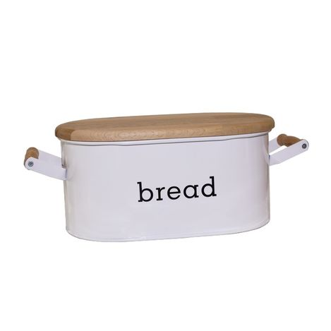 Evstyle Ahşap Kesim Tahtalı Ekmeklik - Beyaz