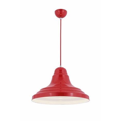 Oktay Aydınlatma 2111 Steel Pendul Kırmızı Sarkıt