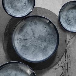 Kütahya Porselen 890003 Nano 24 Parça 6 Kişilik Yemek Takımı - Krem
