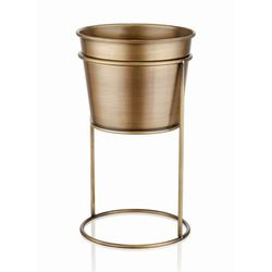 The Mia Ayaklı Çiçeklik (Gold) - 30 cm