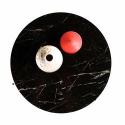 Just Home Trio 3'lü Zigon Sehpa - Siyah / Siyah