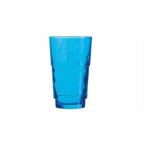 Luminarc Funny Flowers Meşrubat Bardağı - Mavi