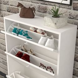 Just Home Perge Ayakkabılık - Beyaz