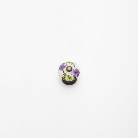 Esal D64 Dicle Antik Düğme Kulp - Beyaz