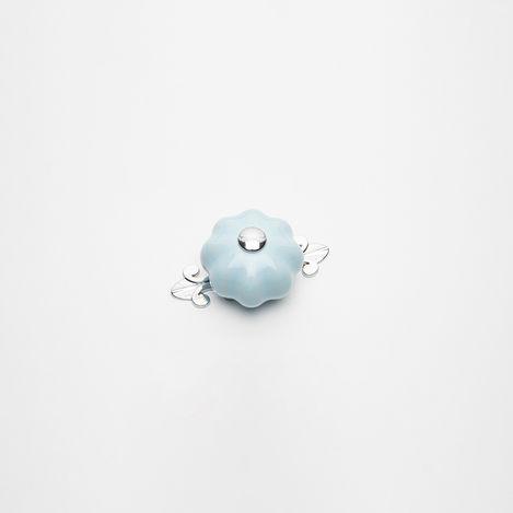 Esal Büyük Kavuk Krom - Mavi