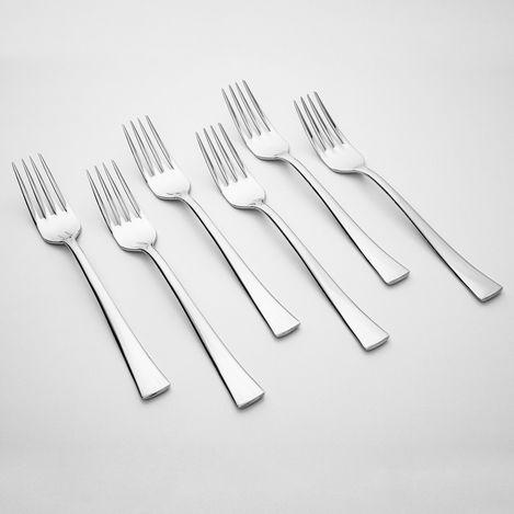 Kılıçlar 6'lı Çeşme Yemek Çatalı - 2,5 mm