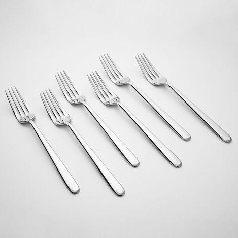 Kılıçlar 6'lı Butik Yemek Çatalı - 3 mm