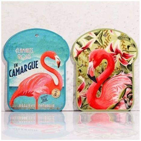 Resim  Kosova Ser Lüx Flamingo Desenli Nihale - Asorti