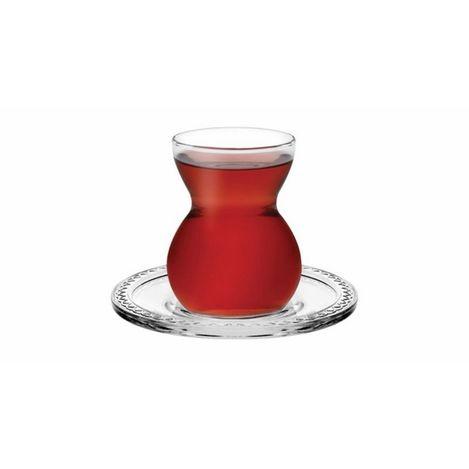 Paşabahçe 96575 6'lı Etnik Çay Bardağı
