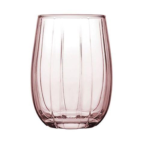 Paşabahçe 420405 3'lü Linka Meşrubat Bardağı - Pembe