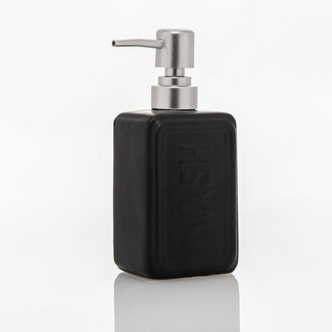 Perotti 10824 Well Tekli Sıvı Sabunluk - Siyah