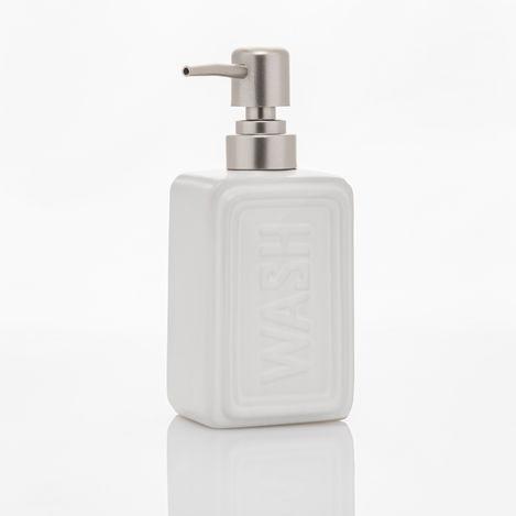 Perotti 10824 Well Tekli Sıvı Sabunluk - Beyaz