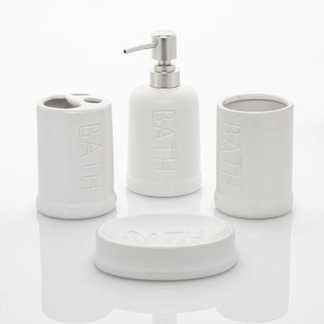Perotti 10816 Well 4 Parça Banyo Takımı - Beyaz