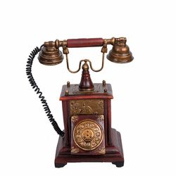 Star Dekor Telefon Müzik Kutusu - 20 cm