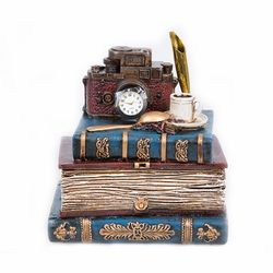 Star Dekor Kitap Kumbara - 16 cm