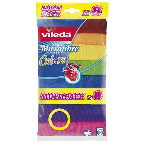 Vileda 8'li Mikrofiber Colors Bez
