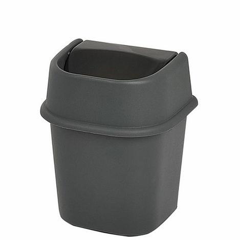 Motek Banyo Çöp Kovası (Antrasit) - 3 lt