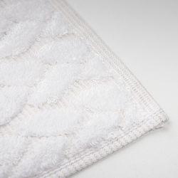 Maisonette Kilyos Lale Yüz Havlusu (Beyaz) - 50x100 cm