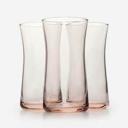 Paşabahçe 420845 3'lü Heybeli Meşrubat Bardağı - Pembe