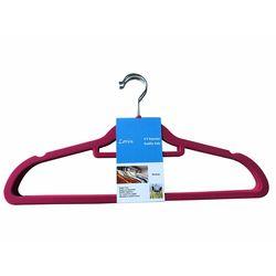 Lorin 5'li Kadife Elbise Askısı - Kırmızı
