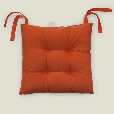 Resim  Iris Home Sandalye Minderi (Oranj) - 40x40 cm