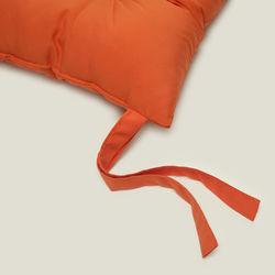 Iris Home Sandalye Minderi (Oranj) - 40x40 cm