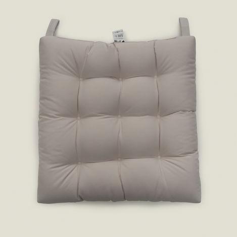Resim  Iris Home Sandalye Minderi (Krem) - 43x43 cm