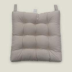 Iris Home Sandalye Minderi (Krem) - 43x43 cm