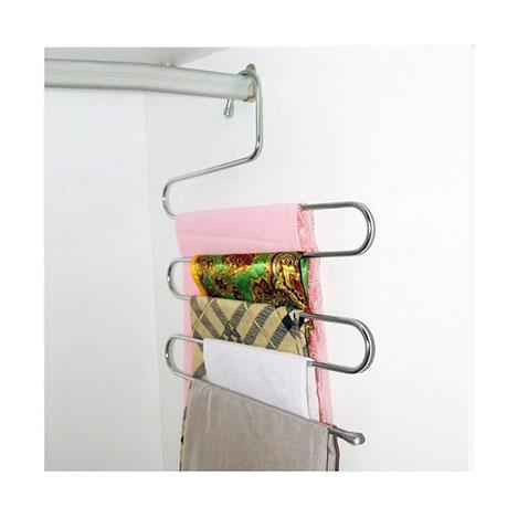 Alper Banyo AY852 5 Katlı Akıllı Pantolon Askısı