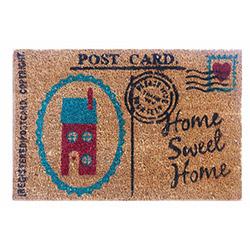 Giz Home Koko Posta Card Kapı Paspası - 40x60  cm