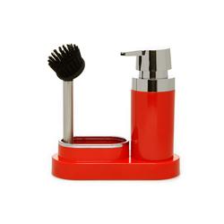 Primanova Polen Süngerli Sıvı Sabunluk - Kırmızı