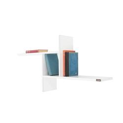 Adore Opsiyonel Duvar Rafı - Parlak Beyaz