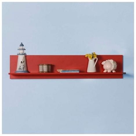 Resim  Adore Dekoratif Duvar Rafı - Kırmızı