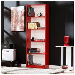 Adore Max 5 Raflı Kitaplık - Kırmızı