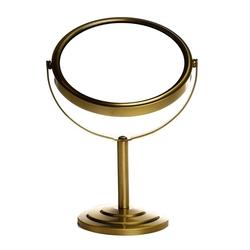 Alemdar ALM73569 Metal Çerçeveli Ayaklı Ayna Bakır