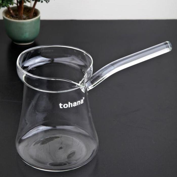 Tohana Cam Cezve - 300 ml