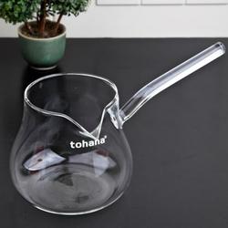 Tohana Cam Cezve - 400 ml